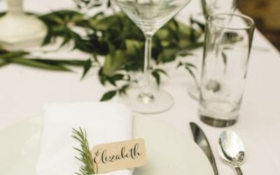 Menu Items to pay attention to when planning your reception